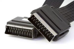Foto van SCART-kabel